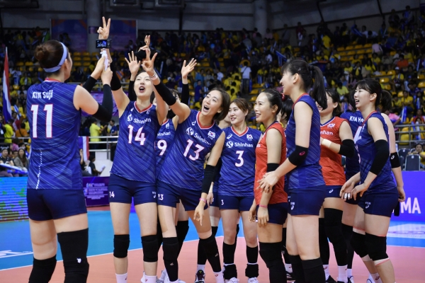 S. Korea qualifies for women's volleyball at Tokyo 2020