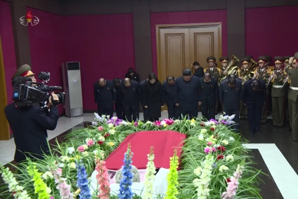 N. Korea holds state funeral for former anti-Japanese fighter