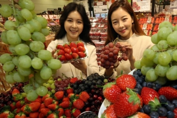 S. Korea aims to boost agricultural exports by 6.7% in 2020