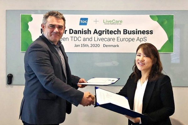 ULikeKorea signs MOU with Denmark's TDC to enter European market