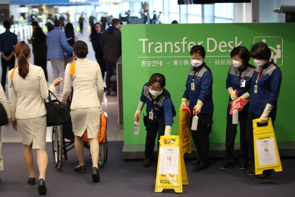 S. Korea on high alert amid possible human-to-human spread of new coronavirus