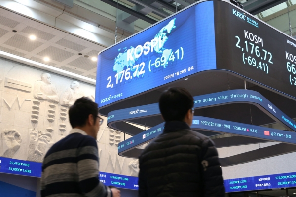 Investors eye low-risk assets as Seoul stocks trim losses