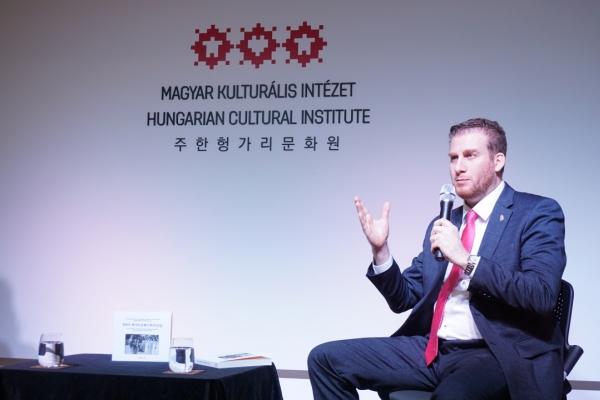 [Diplomatic circuit] Hungary's top diplomat releases book on Korea-Hungary relations