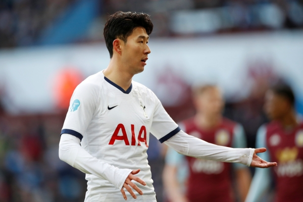 Mourinho sees no bright side for Spurs without Son and Kane