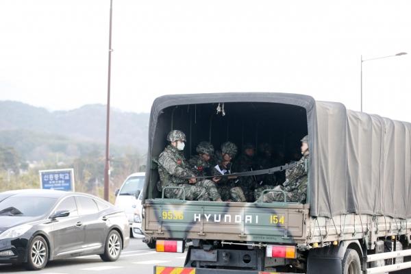 11 soldiers confirmed as coronavirus patients, 7,700 in quarantine