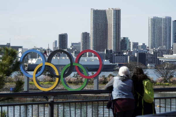 Tokyo Olympics hold test event without fans, top athletes