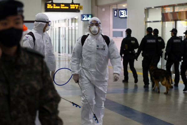 Military reports no additional case of new virus for 5th day