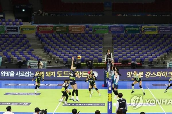 Volleyball federation delays decision on season suspended amid coronavirus crisis