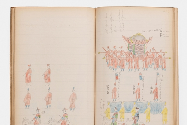 Uigwe transcriptions by French researcher discovered in French museum