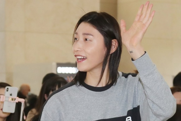 National volleyball captain Kim Yeon-koung taking Olympic postponement in stride