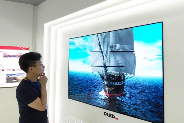 LG Display deploys engineers to complete OLED fab in China