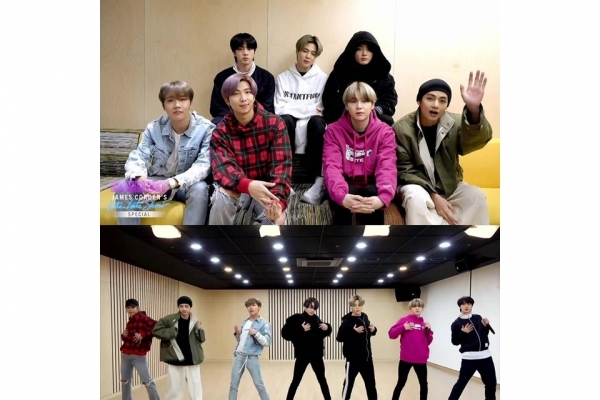 BTS performs from home for US TV show in time of social distancing