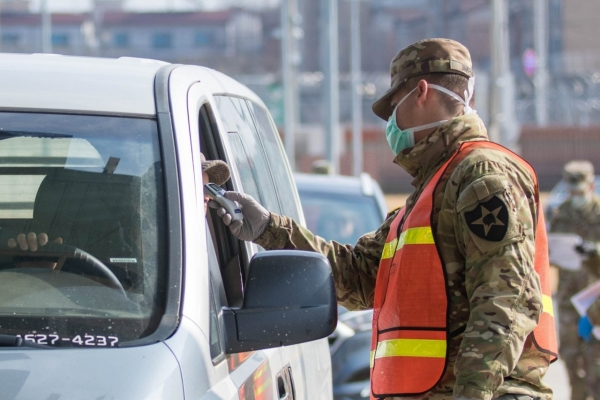 USFK reports another virus case, total at 20