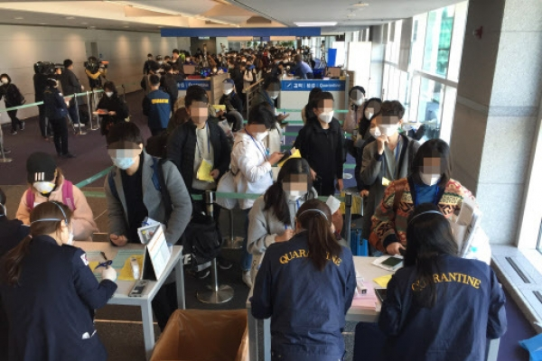 Public anxiety grows as Korean expats rush home