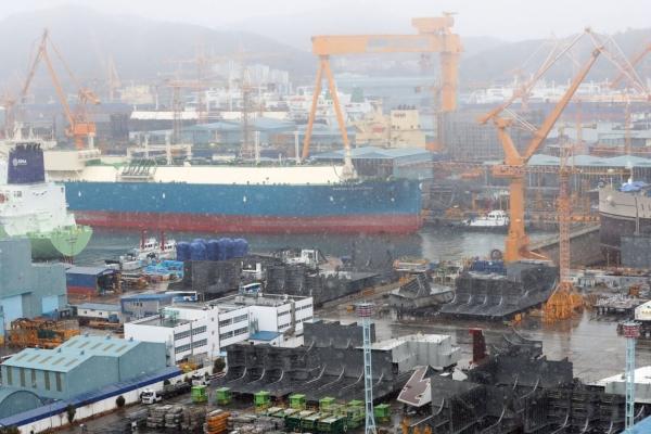 S. Korea ranks 2nd in Q1 shipbuilding orders