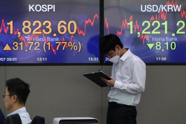 Seoul stocks up for 4th day on hopes for virus slowdown