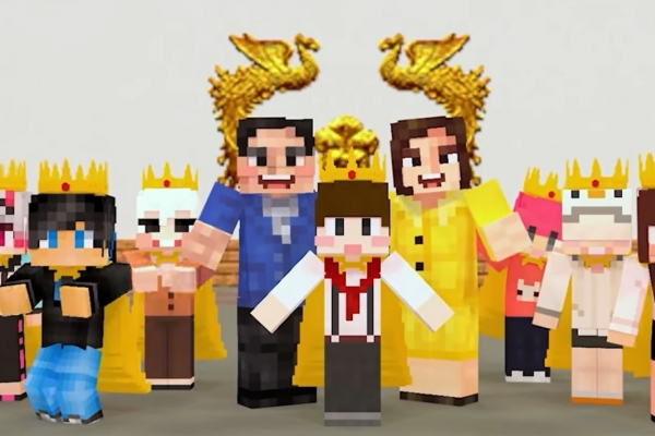 In age of untact, virtual world of Minecraft rises as alternative to physical world