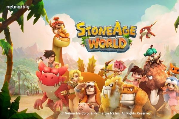 Netmarble's StoneAge World ranks No. 1 on Apple's App Store in S. Korea