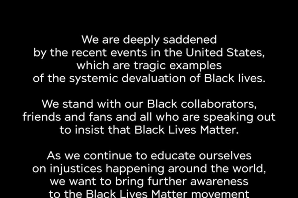 SM Entertainment expresses support for US Black Lives Matter movement