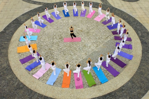 [Photo News] Celebrating International Yoga Day