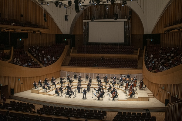 [Herald Review] SPO holds in-person concert after four-month pause