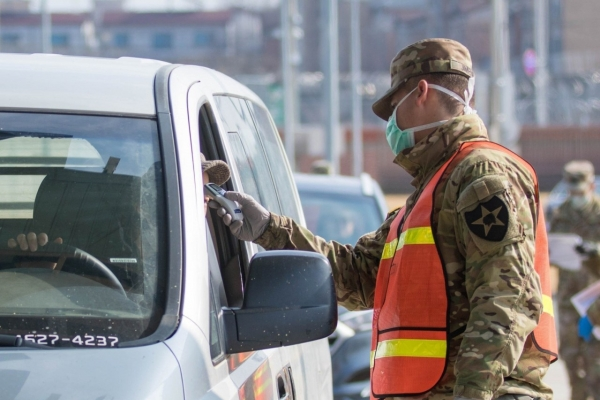 3 more USFK-affiliated personnel test positive for virus; total at 39