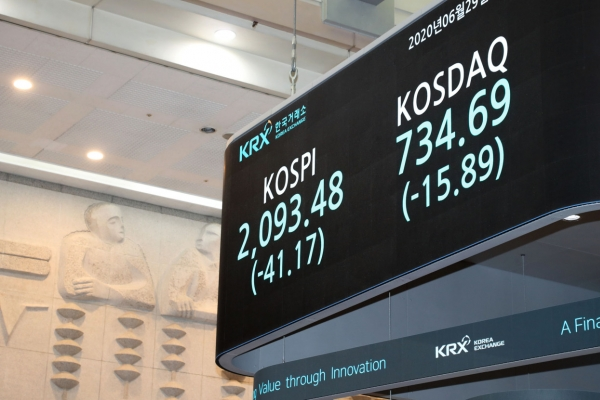Seoul stocks shed nearly 2% amid renewed virus fears