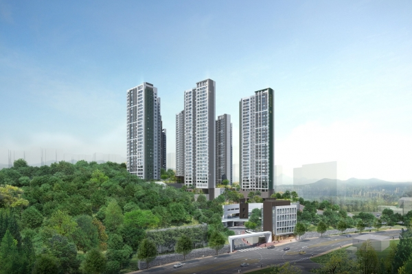 Daewoo E&C to start selling Giheung Prugio Forepiece apartments in July