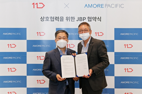 Amorepacific, 11st forge strategic partnership