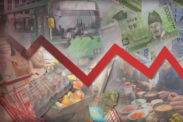 S. Korea's annual inflation unchanged in June amid pandemic