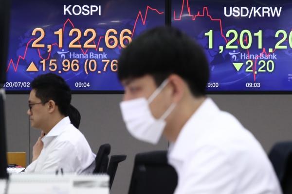 Seoul stocks open higher on pharmaceutical gains