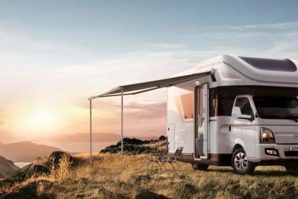 Hyundai Motor rolls out truck-based camping car