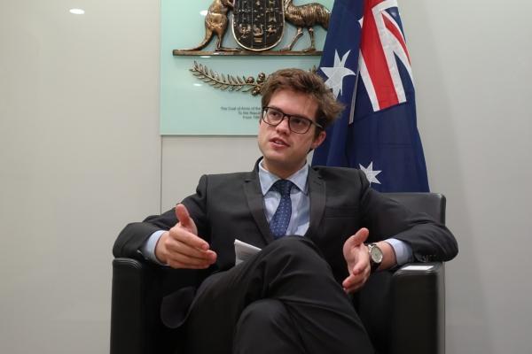 [Herald Interview] 'Australian English as prestigious as American English'