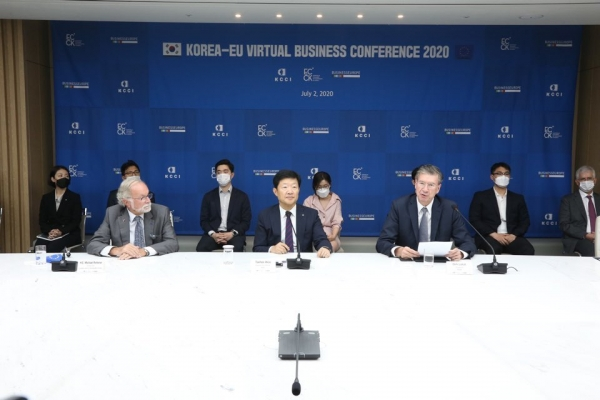 Korean, European businesses seek greater cooperation at virtual conference