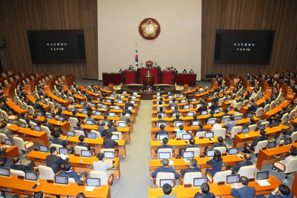 S. Korean parliament likely to pass largest-ever extra budget in history