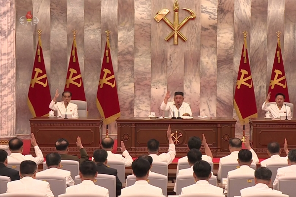 NK paper calls for following through with Kim's order for 'maximum alert' against virus