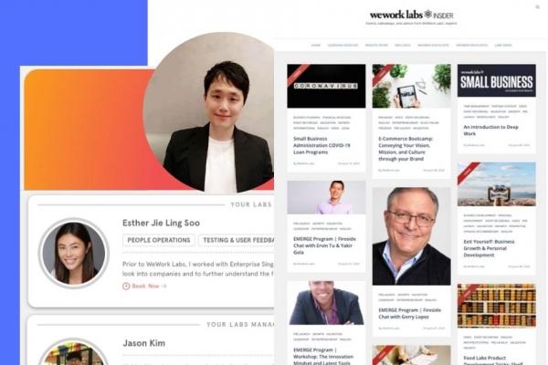 WeWork Labs reinforces virtual startup acceleration programs