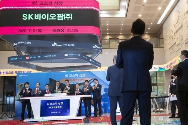Amid bio rally, unlocked SK Biopharma shares in spotlight