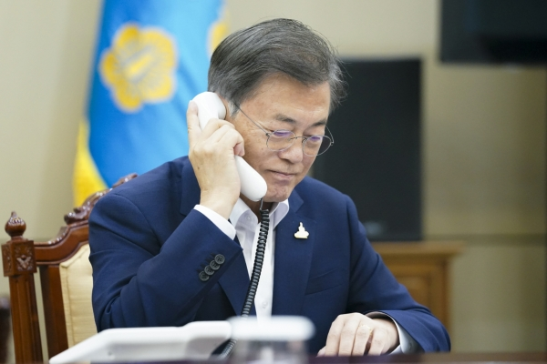 Moon urges efforts to minimize casualties as damage by heavy rain rises