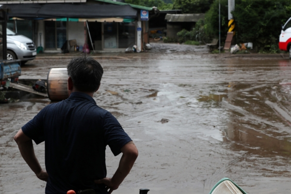 Heavy downpour continues; authorities on alert