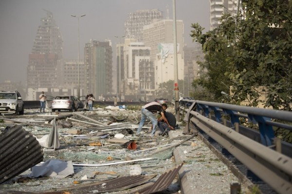 No reports of S. Korean casualties in Lebanon explosion: foreign ministry