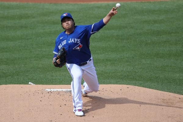 Blue Jays' Ryu Hyun-jin vows to perform well in next game