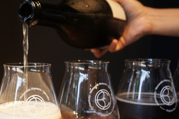 Barrel-aged beer at OBC