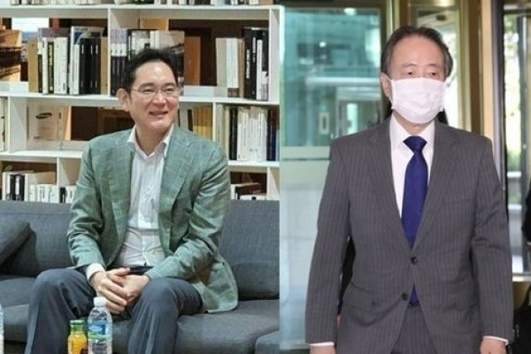 Samsung heir Lee met Japanese ambassador: sources