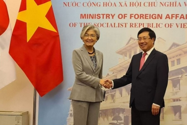 Top diplomats of S. Korea, Vietnam hold talks on easing of COVID-19 entry curbs, bilateral ties