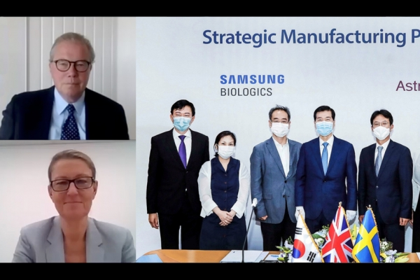 Samsung Biologics seizes over $330m deal with AstraZeneca