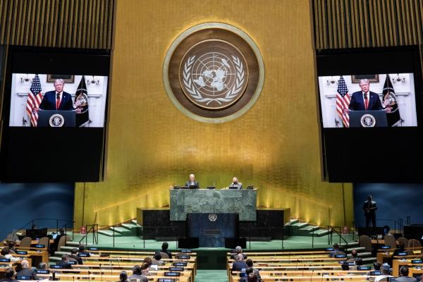 [Newsmaker] Trump skips NK for first time in UN speech