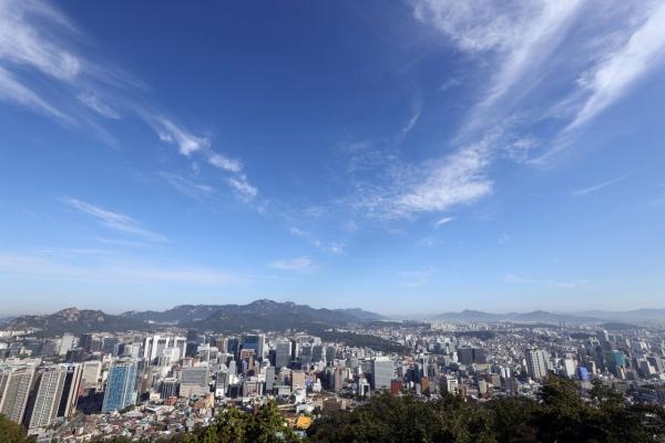 [Photo News] Clear autumn sky of Seoul