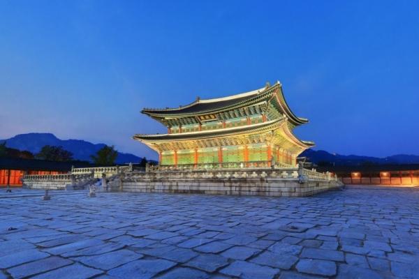 Gyeongbokgung's main throne hall worth just W3.29b