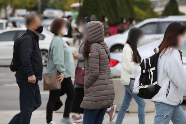Seoul posts 6.6 C on coldest day this fall